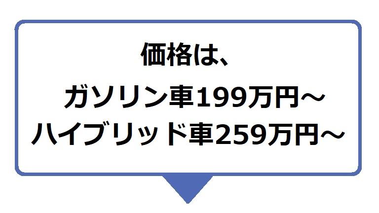 カローラクロスの価格はガソリン車199万円~、ハイブリッド車259万円~